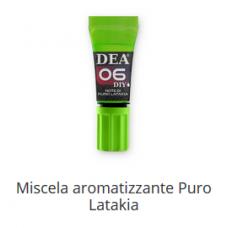 6 Miscela aromatizzante Puro Latakia 10 ml